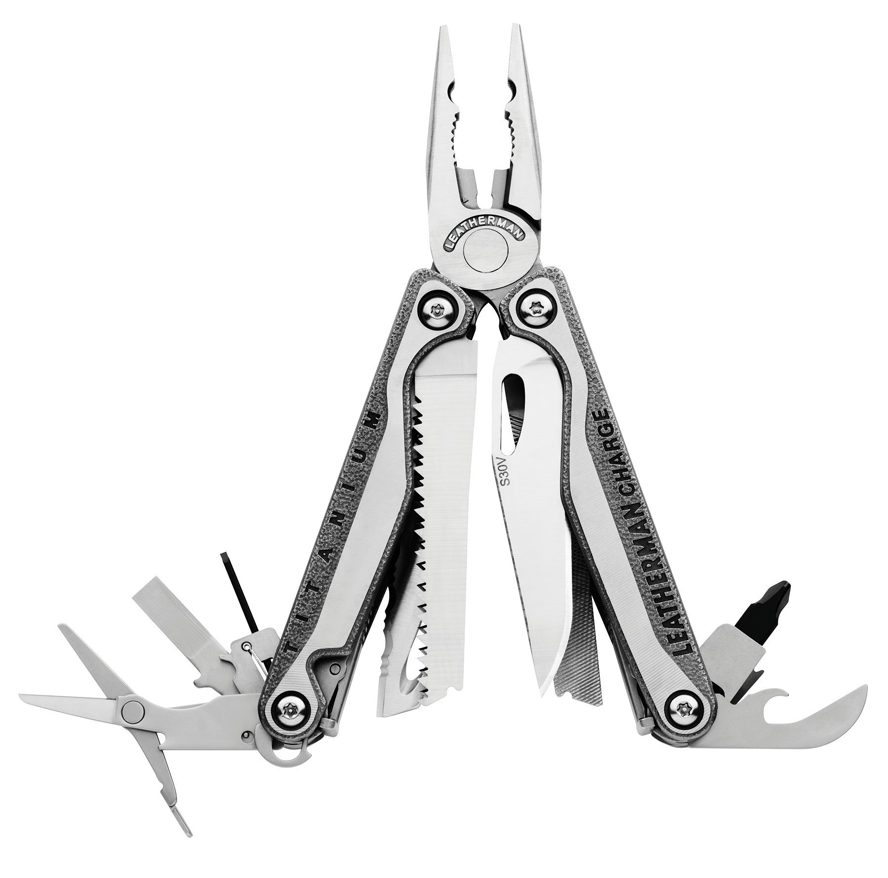 Leatherman - Charge TTI Multi-Tool, Stainless Steel with Leather Sheath (FFP)