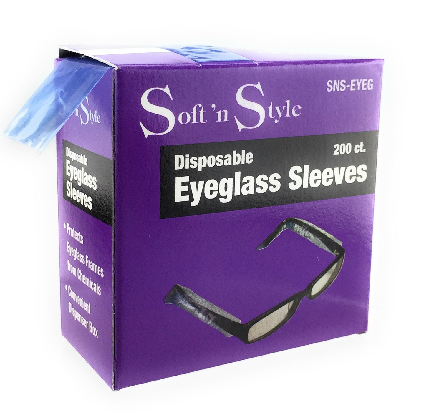 Soft 'N Style Disposable Eyeglass Sleeves