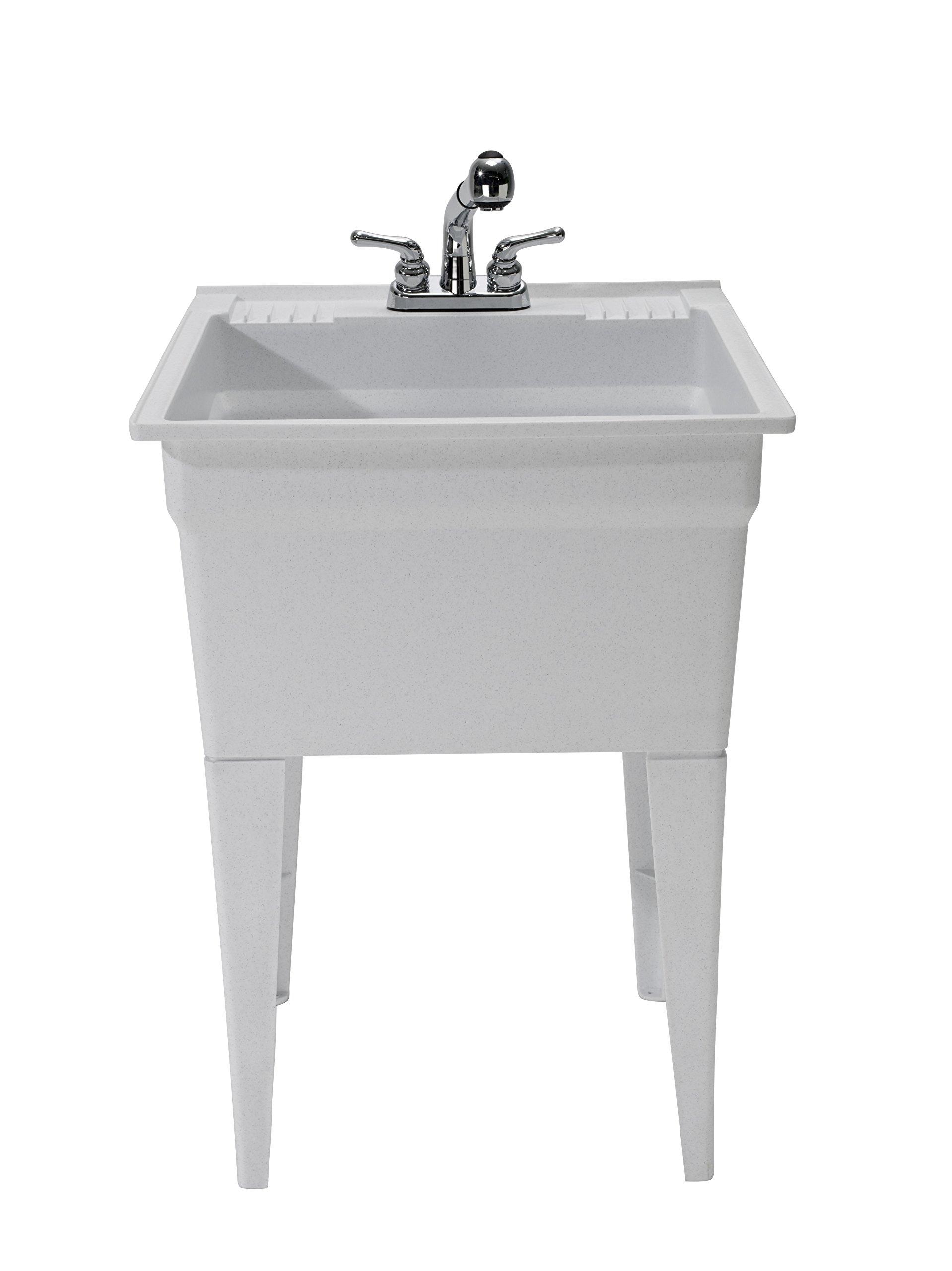 CASHEL 1960-32-02 Heavy Duty Sink - Fully Loaded Sink Kit, Granite by Cashel (Image #4)