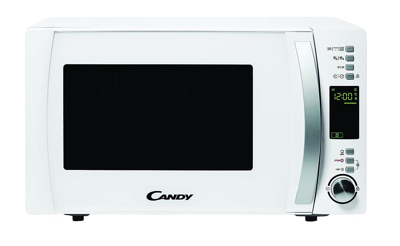 Candy CMXG 25DCW Microonde combinato, Piano di lavoro, 25 l, 900W, Bianco [Classe di efficienza energetica A]