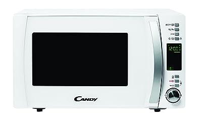 Candy CMXG25DCW - Microondas con grill y cook in app, 25 L, 40 programas automáticos, 1450 W, color blanco