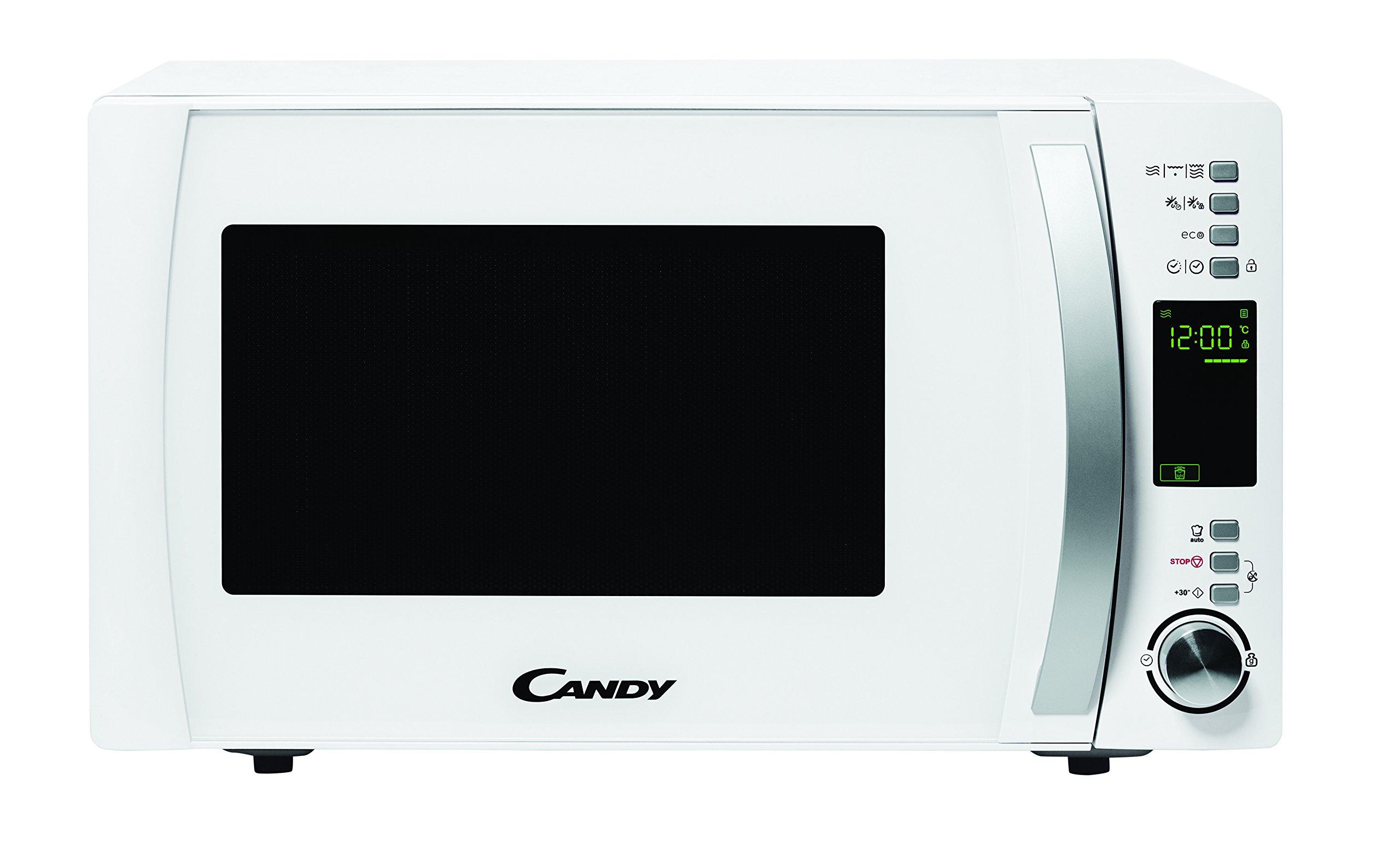 Candy CMXG 25DCW-Microondas con Grill y Cook In App, 40 Programas Automáticos, 900 W, 25 L, Blanco, 25 litros product image