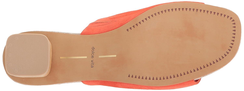 Dolce Vita Women's 7 Kaira Slide Sandal B077NH5JP5 7 Women's B(M) US|Orange Suede 03ceb1
