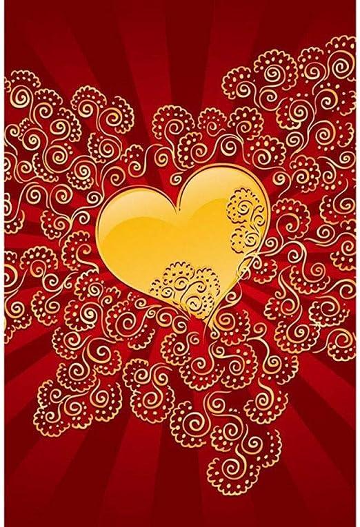 Cadeau dAnniversaire 5D Diamant Peinture Signet Saint Valentin Artisanat de Broderie En Strass Pour la Saint-Valentin pour la Saint Valentin Strass Broderie Arts Artisanat F/ête Des M/ères