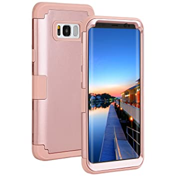 Coque Smartphone Samsung Coque De Protection Rose Pour Samsung Galaxy S8 Plus CzCYdNsERP