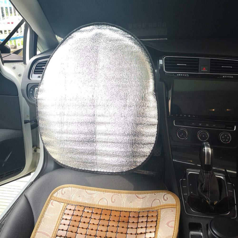dick silberfarben Sonnenschutz f/ür Auto-Lenkrad Baumwolle