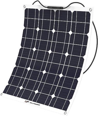 ALLPOWERS 50W Bendable Solar Panel