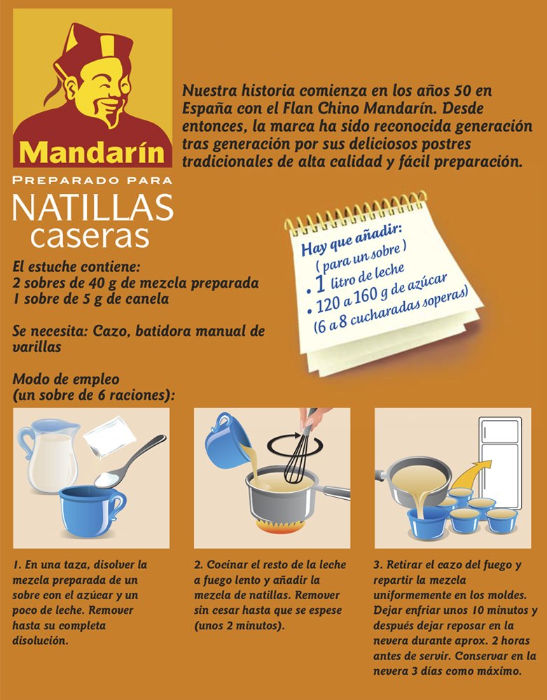 Amazon.com : Natilla by Carmencita 12 servings. 2.82 oz : Grocery & Gourmet Food