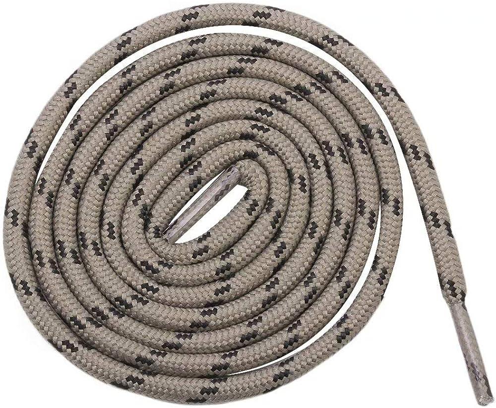 2 Paires Baskets ou Bottines Epaisseur: 3 mm de Diam/ètre mrkrer Lacets Ronds Pour Chaussures