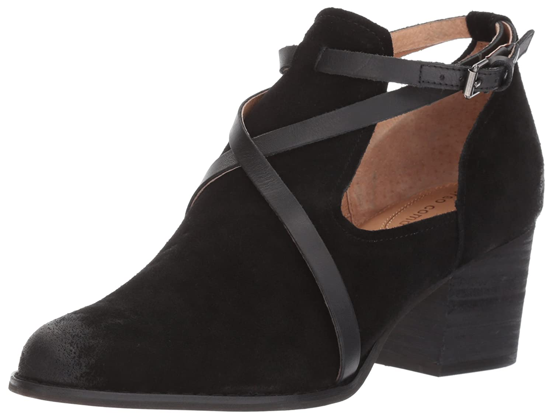 Opportunity Shoes - Corso Como Women's Hanna Fashion Boot B06X1FMFJG 6 B(M) US|Black Split Suede/Black Burnish