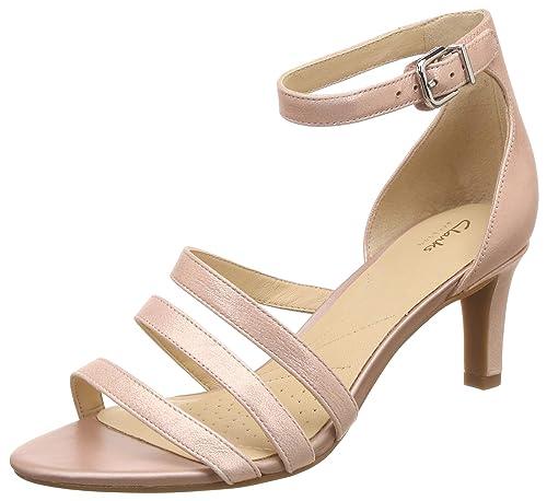 c4e704f31b6a Clarks Women s Laureti Eden Copper Leather Fashion Sandals-4 UK India (37 EU