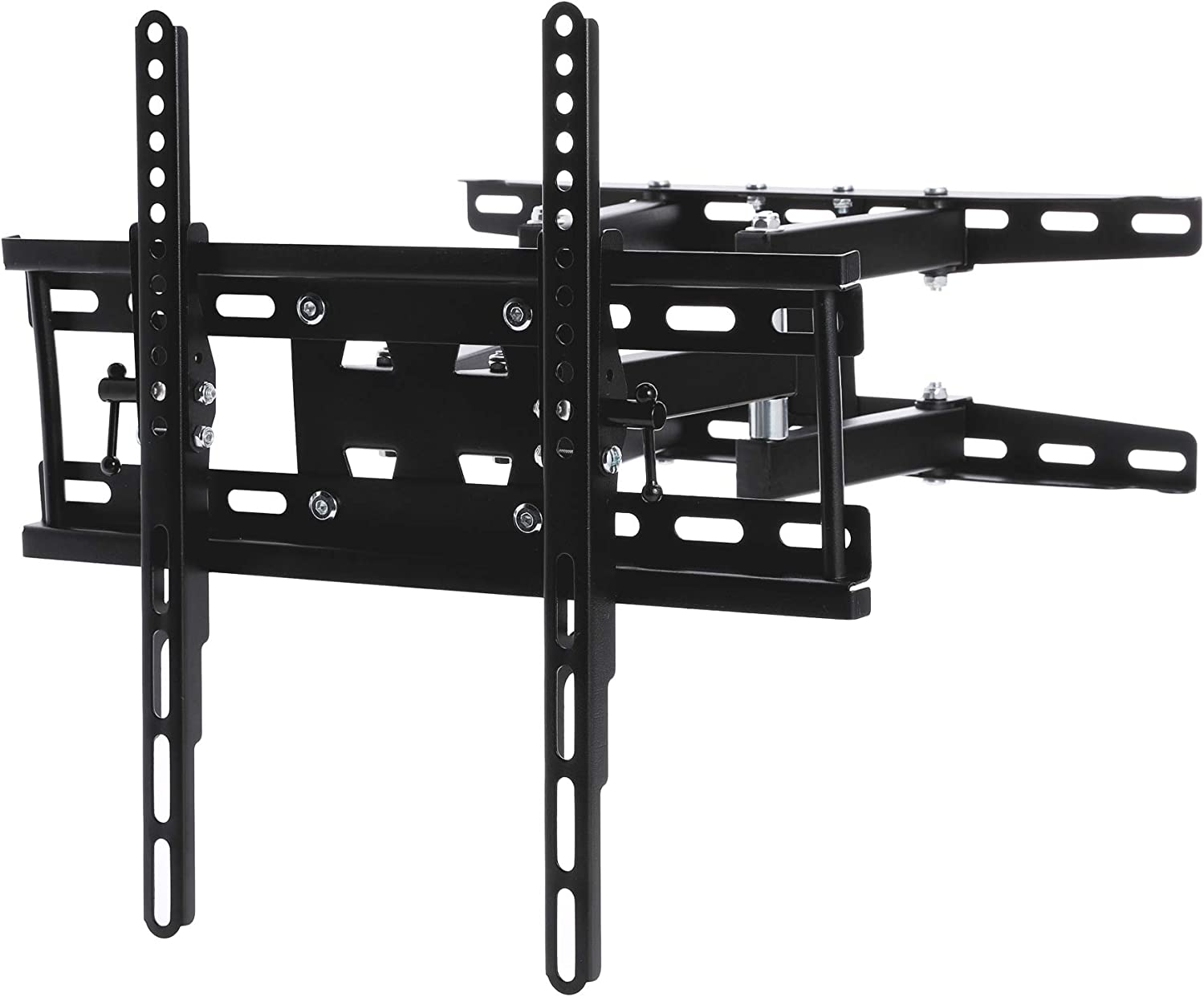 CO-Z TV Wall Mount | TV Bracket with 90-Degree Swivel Articulating Dual Arms | Fits Most 20-60 Inch Flat Screen TV's | Max VESA 400x400mm | Max Weight 110 lbs