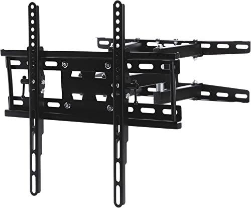 CO-Z TV Wall Mount TV Bracket with 90-Degree Swivel Articulating Dual Arms Fits Most 20-60 Inch Flat Screen TV s Max VESA 400x400mm Max Weight 110 lbs