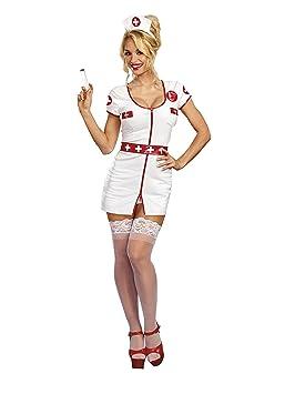 DreamGirl - Disfraz de enfermera 10711 llamar a la tomas, tamaño ...