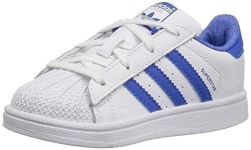 adidas C77154 - Botines de Cuero para Chico, Color Blanco, Talla 18 M EU Niño Pequeño: Amazon.es: Zapatos y complementos