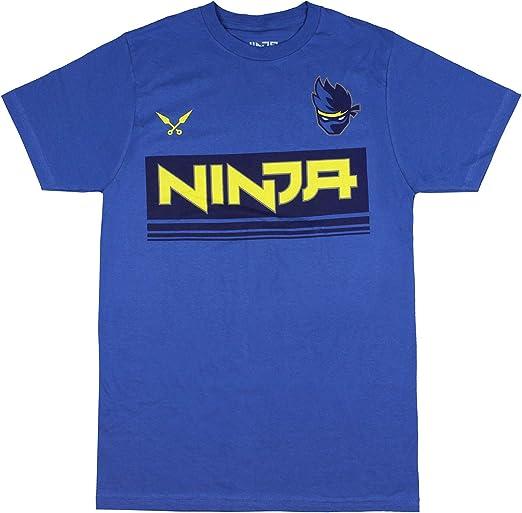 Ninja Shirt Mens NinjasHyper Logo Ninja YouTube T-shirt