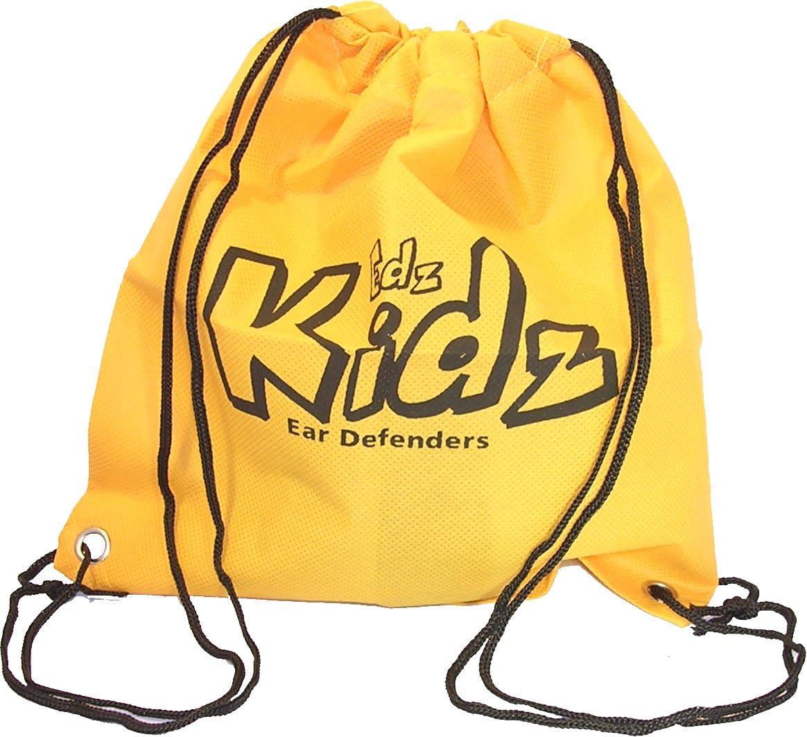 Edz Kidz Bolsa de almacenamiento para la protecci/ón auditiva del ni/ño EDZ Kidz rosa