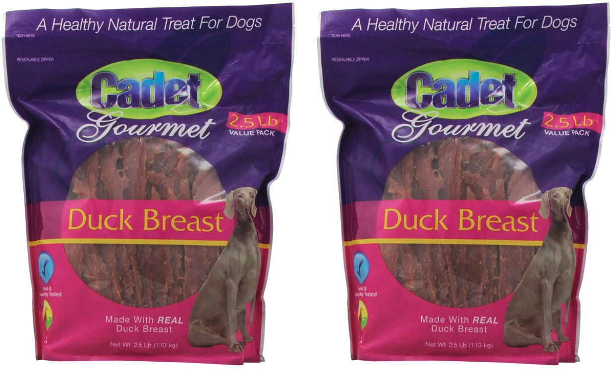 Cadet Duck Dog Treats, 2.5-Pounds (2-pack) by Cadet