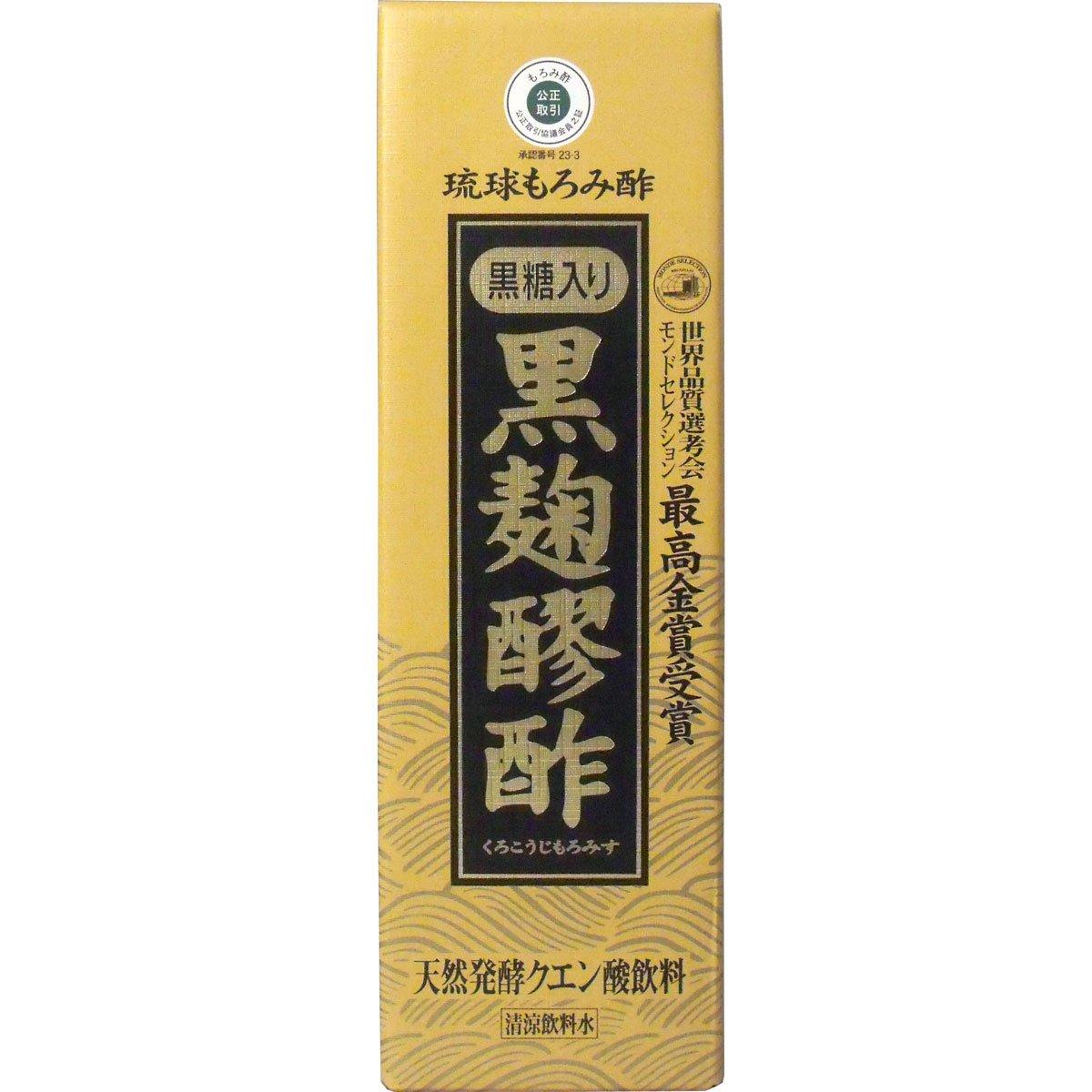 黒麹醪酢 黒糖 720ml ×6個セット B008B4939Q