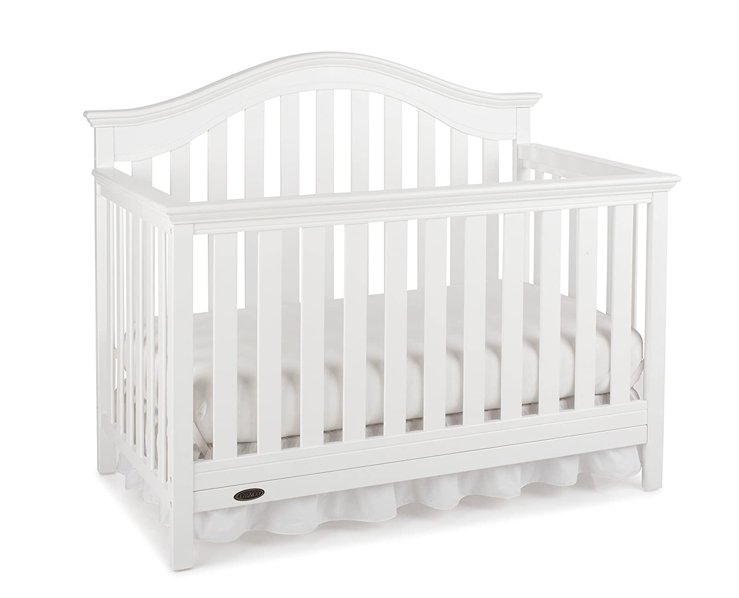 - Amazon.com : Graco Bryson 4-in-1 Convertible Crib, White : Baby
