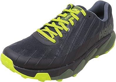 HOKA ONE One Torrent Deportivas Hombres Negro/Verde - 45 1/3 - Running/Trail: Amazon.es: Zapatos y complementos