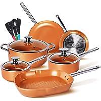 Deals on KUTIME 6pcs Nonstick Cookware Set