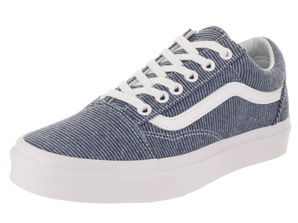 Vans Women's Old Skool Trainers, Blue ((Jersey) Blue/True White Q8u), 6 UK 39 EU