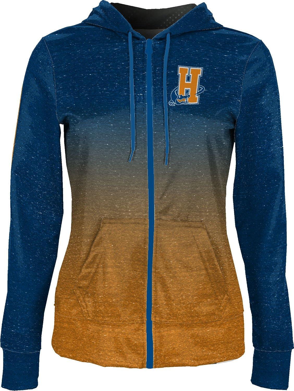 School Spirit Sweatshirt ProSphere Hostos Community College Girls Zipper Hoodie Ombre