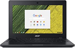 "Acer Chromebook 11 C771T-C1WS, Intel Celeron 3855U, 11.6"" HD Touch Display, 4GB LPDDR3, 32GB eMMC, 802.11ac WiFi, Bluetooth 4.2, Google Chrome"