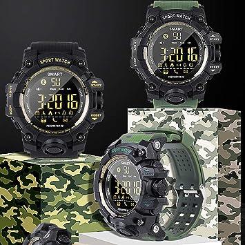 CplaplI EX16S Bluetooth Smart Watch Deportes Al Aire Libre ...