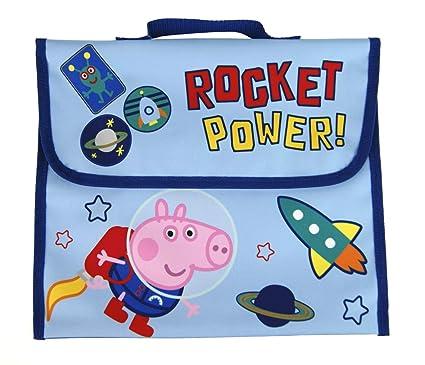 Peppa Pig George Pig - Bolsa para Libros de Lectura, diseño ...