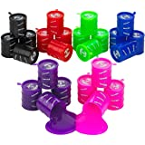 Kicko Small Barrel of Slime - 24 Pack Assorted Colors - Container 2 Inches - for Kids Boys and Girls, Party Favor, Fun…