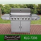 大型BBQガスグリル 大人6人~15人分程度の調理が一度に可能な本格派グリル