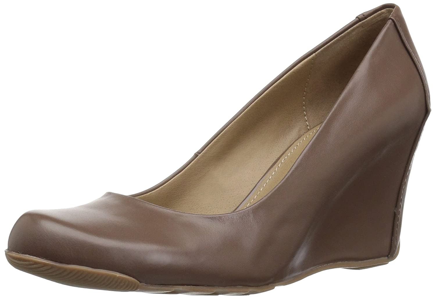 Kenneth Cole REACTION Women's 7 Did U Tell Wedge Pump B01G4HHHGW 9 B(M) US|Nut