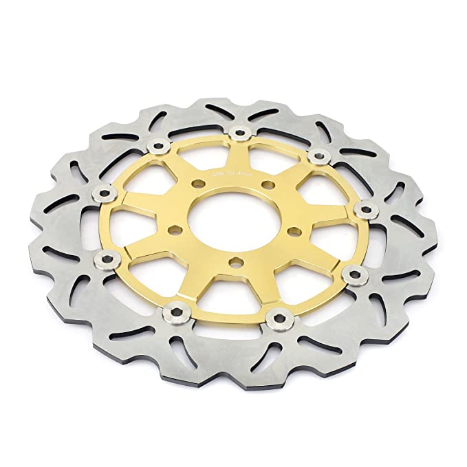 Amazon.com: TARAZON Gold Front Brake Discs Rotors and Pads Kit for Suzuki GSXR1000 04 GSXR 600 750 04 05: Automotive