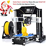 ALUNAR 3D Printer Prusa I3 Kit Self Assembly Mini DIY Desktop FDM 3D Learning for Industry School Kids Education Similar to Anet A8