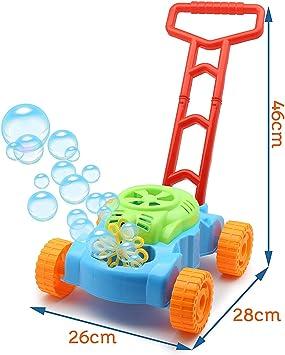 TOYLAND® Lawn Bubble Mower Empuje el Juguete Cortacésped - Juguetes al Aire Libre y Juegos de jardín: Amazon.es: Juguetes y juegos