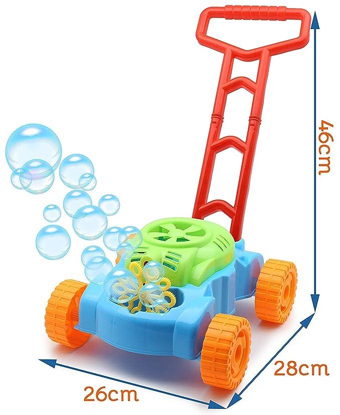 TOYLAND® Lawn Bubble Mower Empuje el Juguete Cortacésped ...