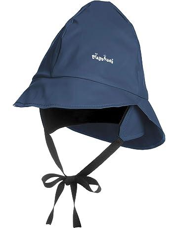 3452867c Playshoes Girl's Kids Waterproof Rain with Fleece lining Hat