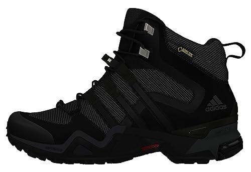 adidas Women's Fast X High GTX W Hiking Boots, Gris (Griosc/Negbas/