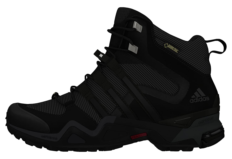 Adidas Damen Fast X High GTX W Turnschuhe Schwarz 40 EU