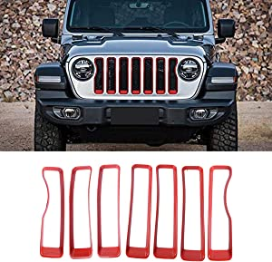TTCR-II for Jeep Wrangle JL Front Grille Inserts