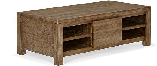 Alinea Toundra Table Basse De Salon Marron 120 0x40 0x60 0