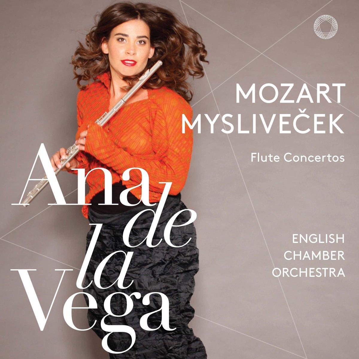 SACD : Ana de la Vega - Flute Concertos 1 & 2 (Hybrid SACD)