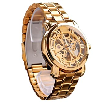 Amazon.com: DDLBiz New Luxury Automatic Mechanical Watches ...