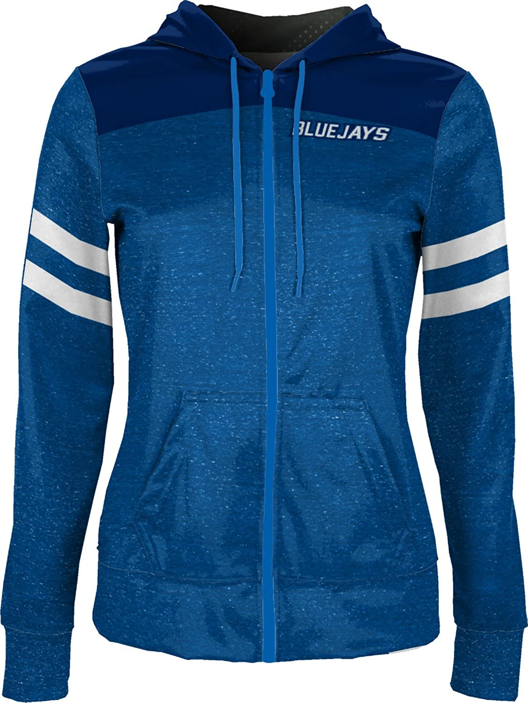 School Spirit Sweatshirt Game Time Creighton University Girls Zipper Hoodie