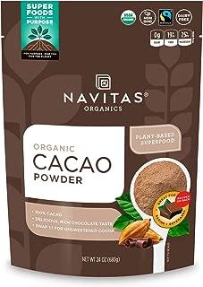 product image for Navitas Organics Cacao Powder, 24 oz. Bag, 45 Servings — Organic, Non-GMO, Fair Trade, Gluten-Free