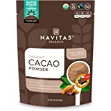Navitas Organics Cacao Powder, 24 oz. Bag, 45 Servings — Organic, Non-GMO, Fair Trade, Gluten-Free
