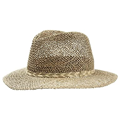 Seagrass Men´s Straw Hat men ´s hats summer hats (M 56-57 - nature ... cb315839c44