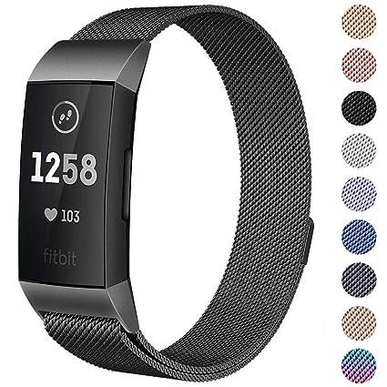 Amazon com: CAVN Compatible Fitbit Charge 3 / Charge 3 SE Bands